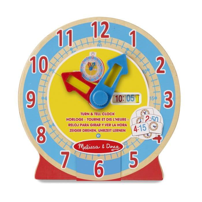 zegar edukacyjny melissa doug