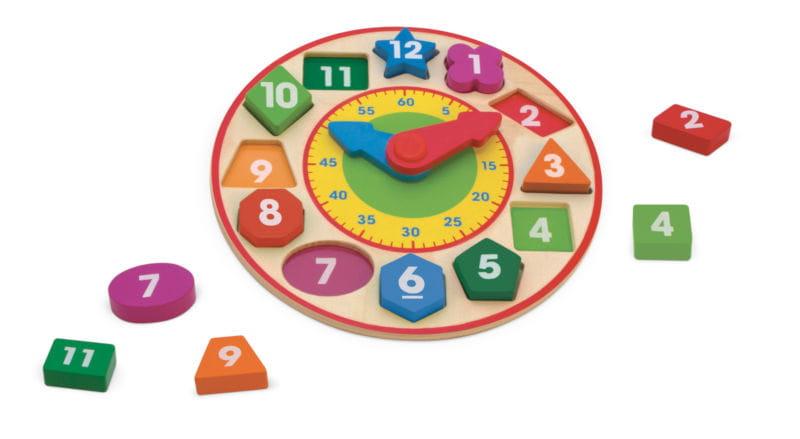 zegar sorter, nauka czasu
