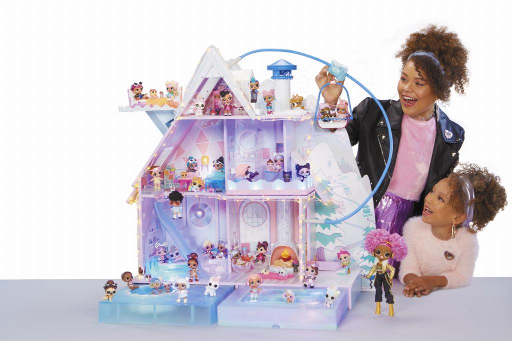 Lol Chalet Winter Disco domek dla lalek zimowy - duży