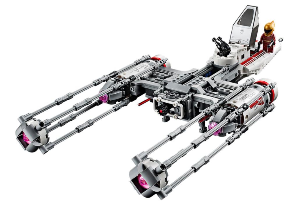 LEGO® Star Wars™ Myśliwiec Y-Wing Ruchu Oporu