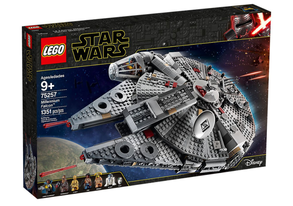 Sokół Millennium™ LEGO Star Wars w zabawkitotu.pl