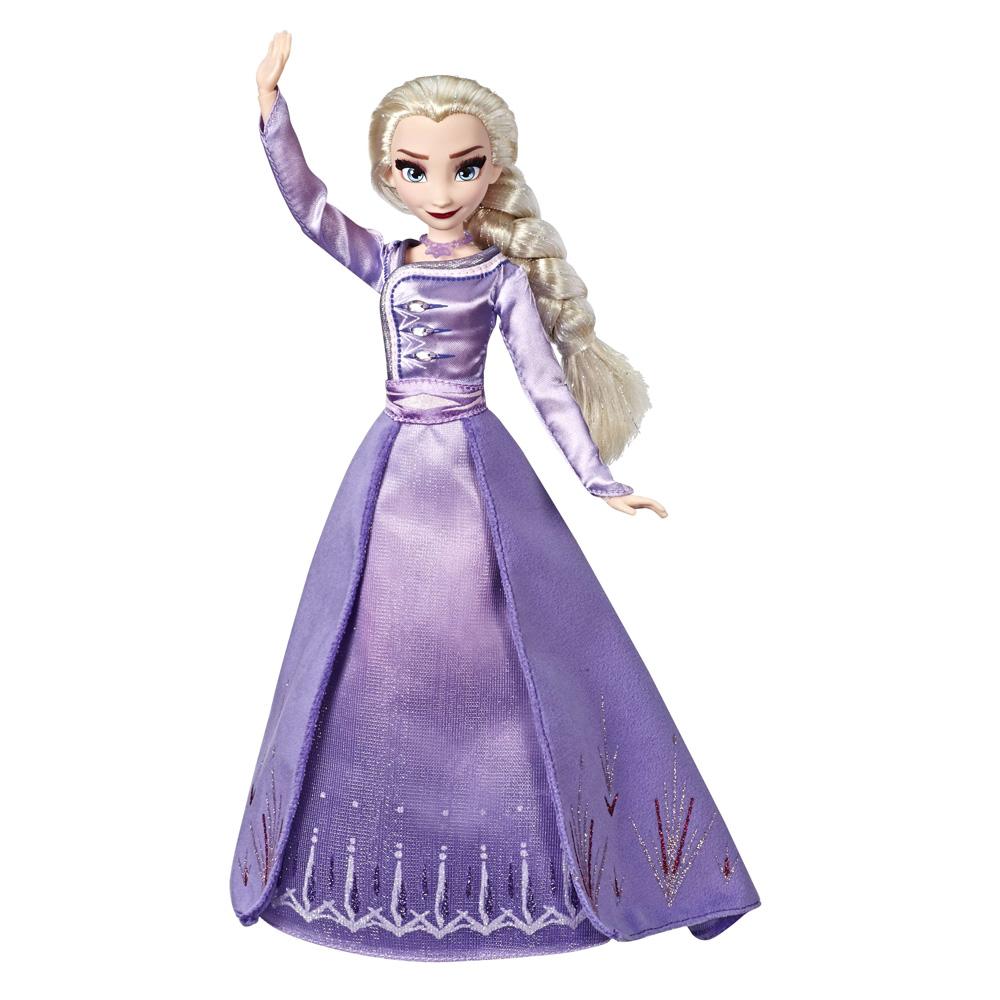 Lalka Elsa w sukni deluxe - Kraina Lodu 2 - Hasbro - lalki kraina lodu 2 w zabawkitotu