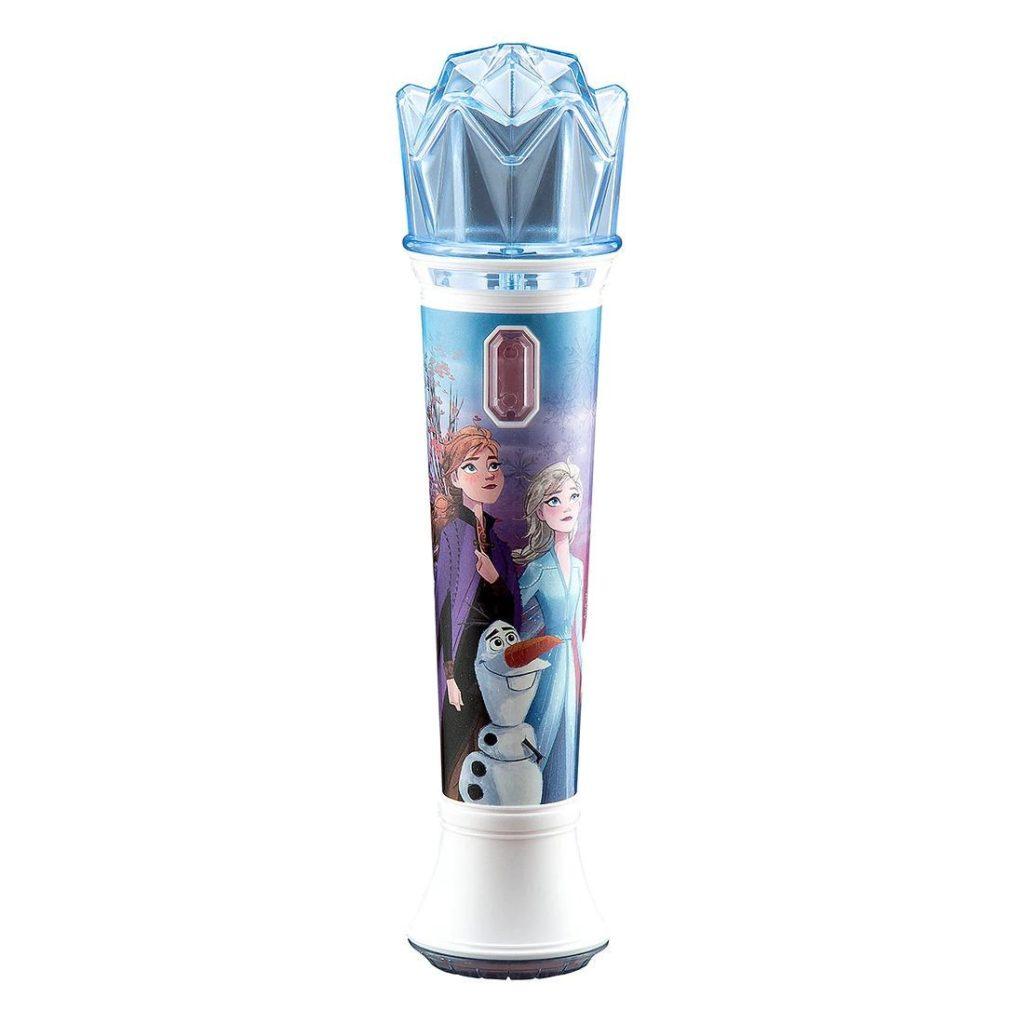 Mikrofon z bohaterkami Krainy Lodu 2  ekids zabawkitotu