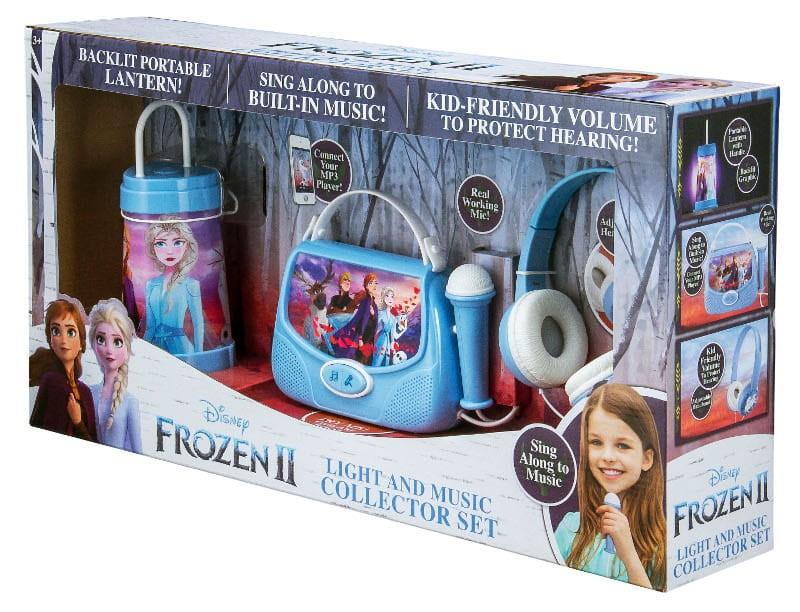 Zestaw Karaoke 3w1 Kraina Lodu 2 - torebka z mikrofonem, słuchawki, latarenka