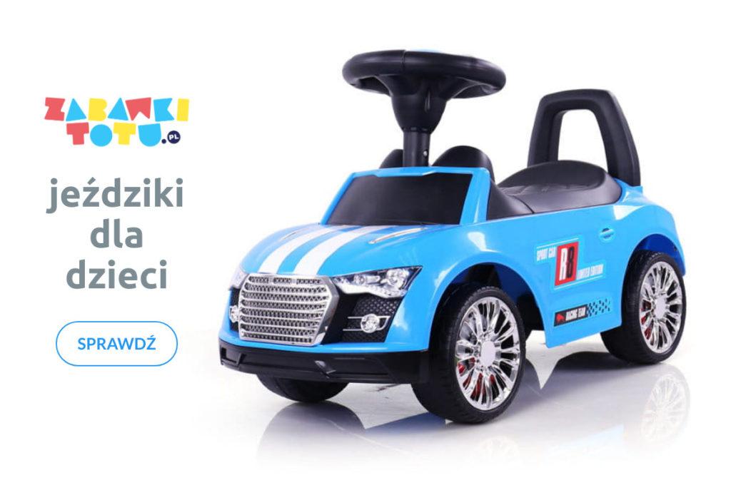 Jeździki dla dzieci w zabawkitotu.pl