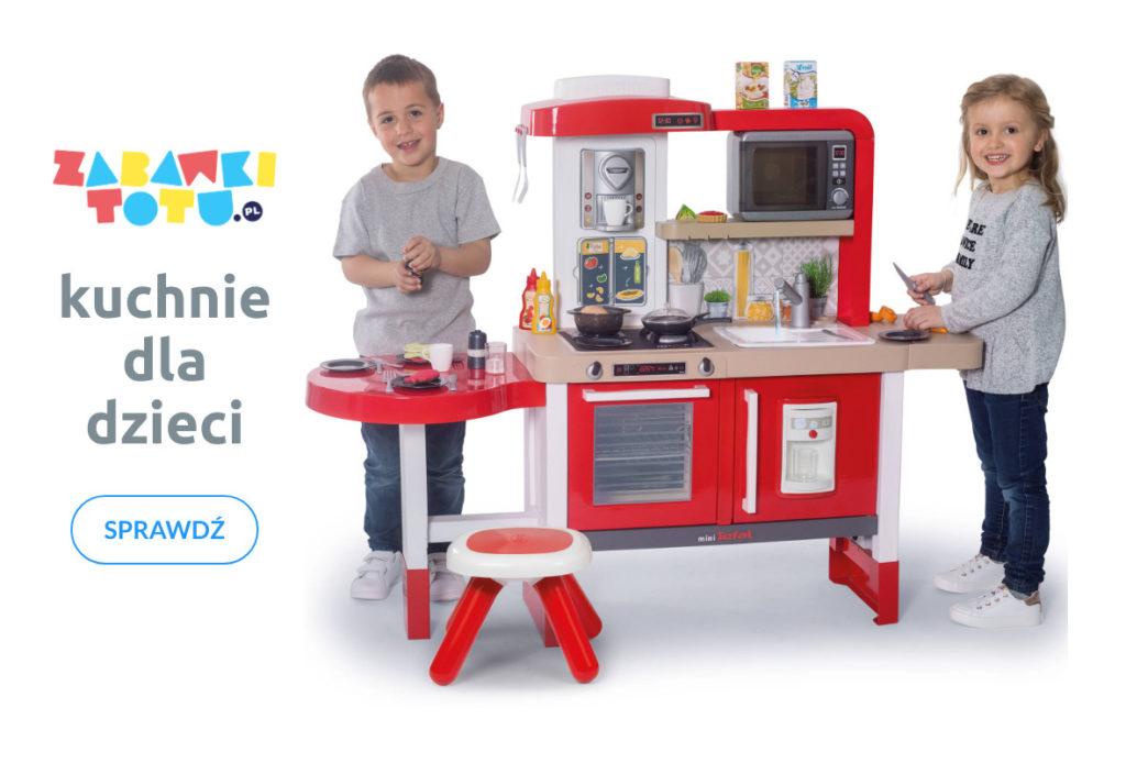Kuchnie dla dzieci. Zabawkowe kuchnie to świetna zabawa w odgrywanie ról. Kup teraz online, a kurier dostarczy paczkę pod same drzwi. zabawkitotu.pl to tu są zabawki dla dzieci