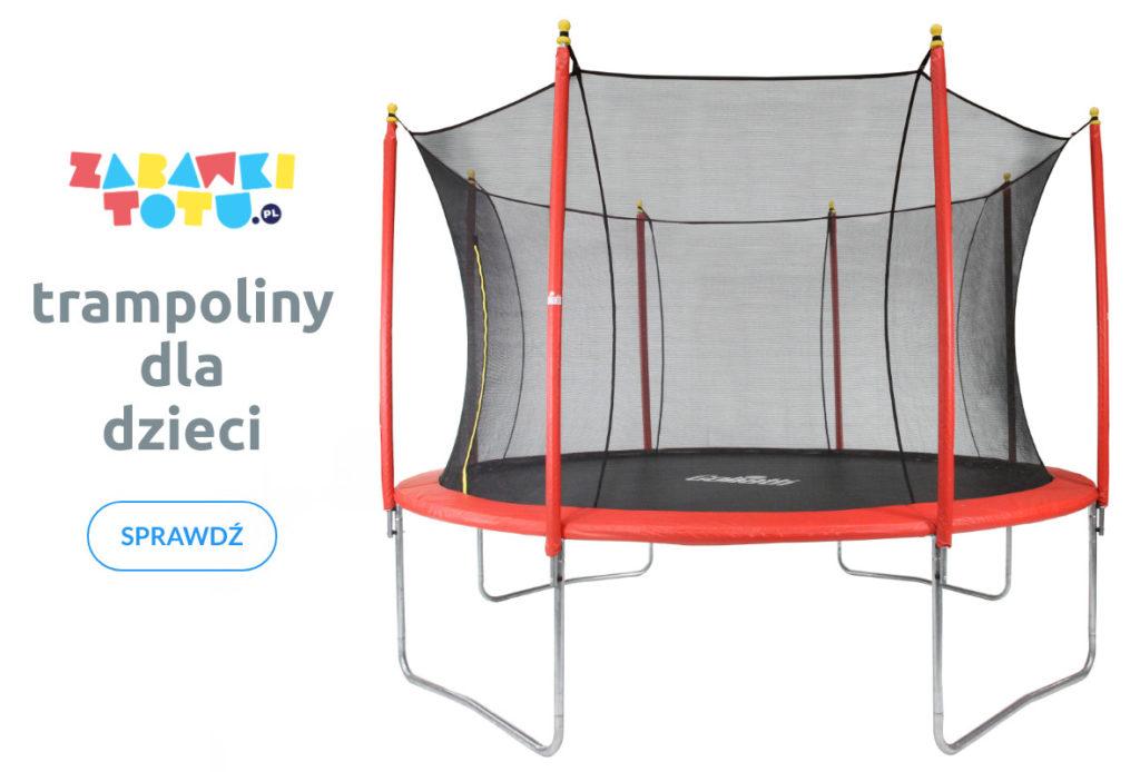 trampoliny ogrodowe - trampoliny dla dzieci w zabawkitotu.pl