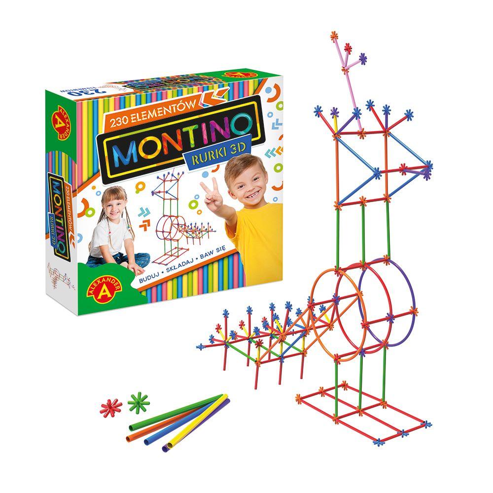 Montino 230 elementów Alexander - zabawki kreatywne
