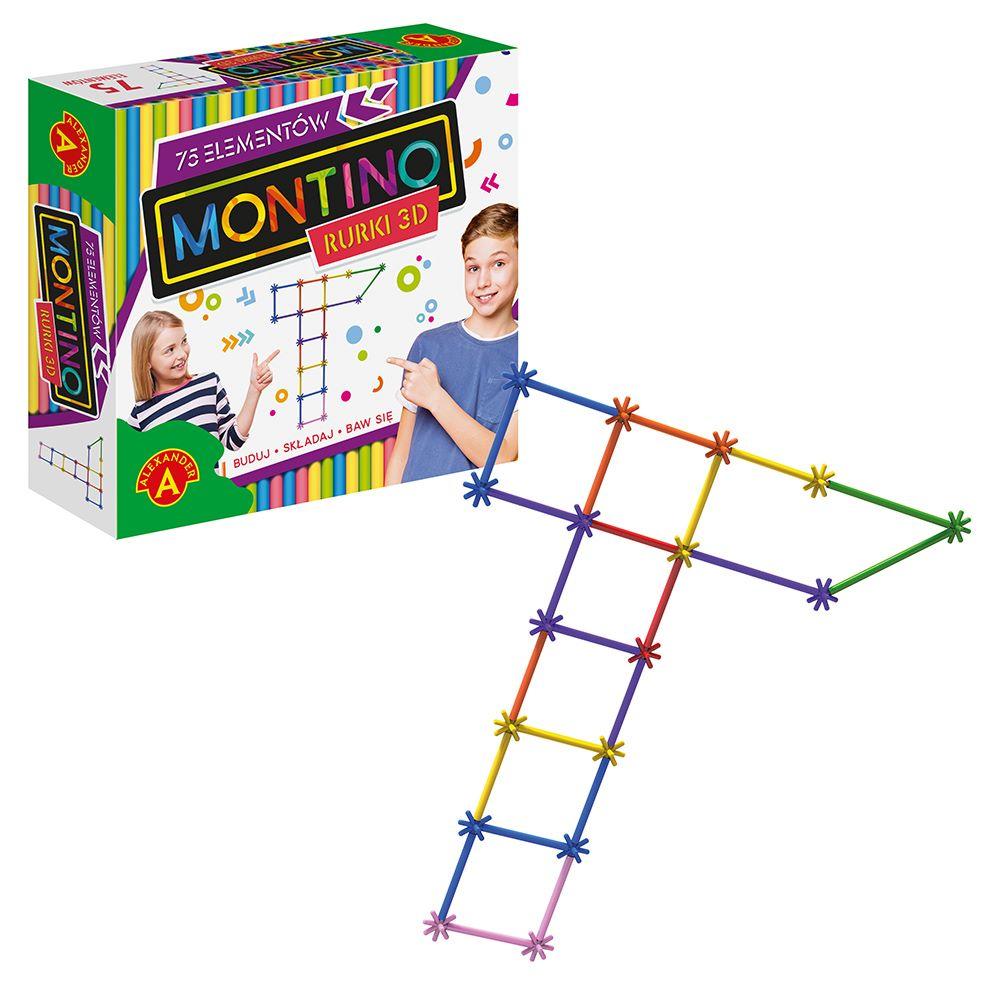 Montino 75 elementów Alexander - zabawki kreatywne