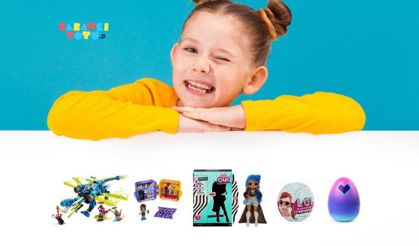 nowe zabawki dla dzieci