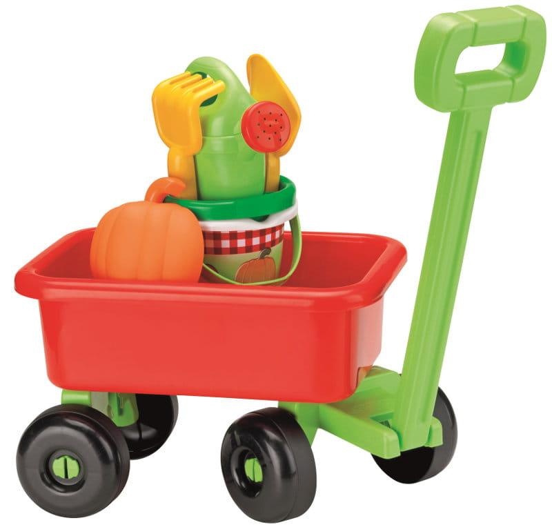 Wózek Ogrodowy dla Dziec z Akcesoriami